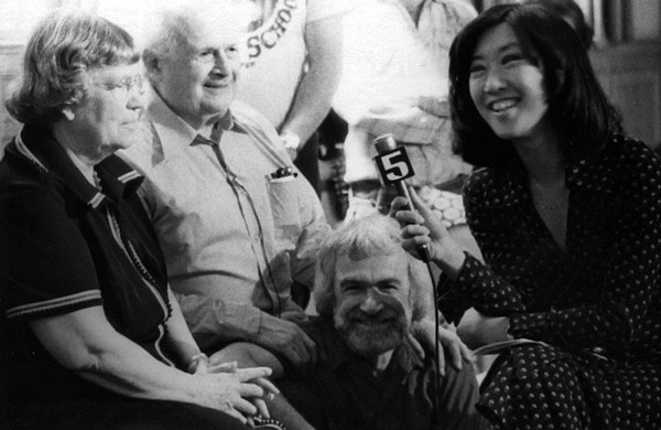 Reporter interviews Margaret Mead, Moshé Feldenkrais, and Karl Pribram