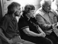 Karl Pribram, Margaret Mead, and Moshé Feldenkrais in discussion