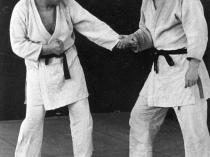 Moshé Feldenkrais in judo training