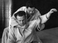 Moshé Feldenkrais learns judo