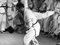 Judo training with Moshé Feldenkrais