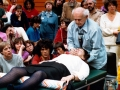 Dr. Feldenkrais demonstration in His Method