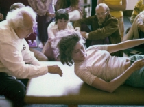 Dr. Feldenkrais teaching students his Method
