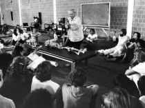 Dr. Feldenkrais teaching practitioners