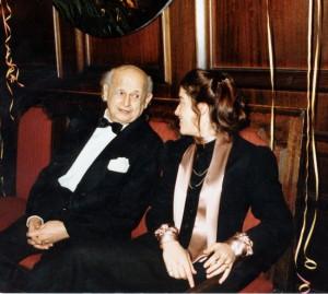 Moshe Feldenkrais with Anat Baniel