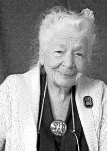 Ida Rolf - creator of Rolfing