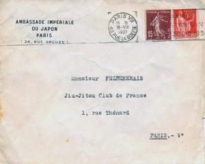Jiu Jitsu Club de France - Dr. Feldenkrais
