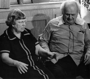 Dr. Margaret Mead and Dr. Moshé Feldenkrais