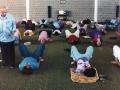 Moshé Feldenkrais training new students